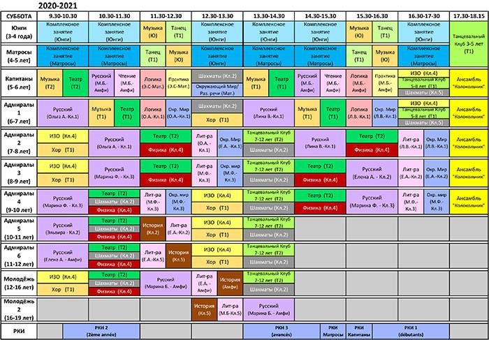 Cours+Profs 2020-21 sam